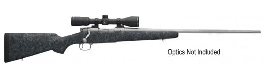 """Winchester Guns 535206225 70 Extreme Weather Bolt 25-06 Rem 22"""" 5+1 Bell & Carlson Gray Stock Stainless Steel"""