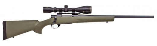 "Howa HGK62407+ Hogue Gameking Scope Package Bolt 25-06 Remington 22"" 5+1 Hogue Overmolded Blued"