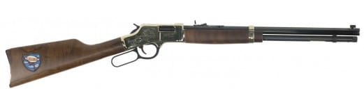 "Henry H006TT Big Boy Trucker''s Edition Lever 44 Magnum 20"" 10+1 American Walnut Stock Blued Barrel/Brass Receive"