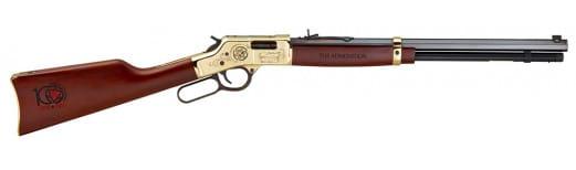 "Henry H006OA Big Boy Order of the Arrow Centennial Lever 44 Magnum 20"" 10+1 American Walnut Stock Blued Barrel/Brass Receiver"