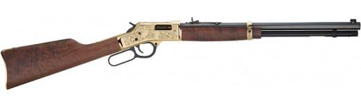 "Henry H006MD3 Big Boy Deluxe Engraved 3rd Edition 357 Magnum/38 Special Lever 357 Magnum/38 Special 20"" 10+1 Walnut Stock Blued Barrel/Brass Receiver"