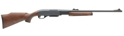 "Remington Firearms 24657 7600 Standard Pump 30-06 22"" 4+1 Walnut Stock Blued"