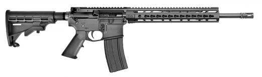 """Core 15 11881 M4 Scout Keymod 5.56 NATO 16"""" FH 30+1 6Pos Stock Black"""