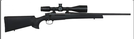 "CZ 04864 557 Sporter Bolt 6.5mmX55mm 20.5"" 4+1 Black Synthetic Stock Blued"