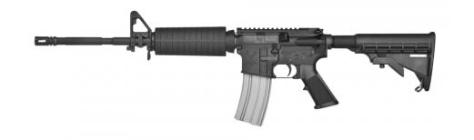 "Stag Arms SA5L Model 5L Semi-Auto 6.8mm Remington SPC 16"" 25+1 6-Position Hard Coat Anodized"