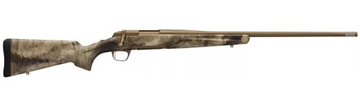 """Browning 035379291 X-Bolt Hells Canyon Speed Bolt 6mm Creedmoor 26"""" 4+1 Synthetic A-TACS AU Stock Burnt Bronze Cerakote"""