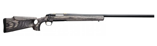 """Browning 035428291 X-Bolt Eclipse Target Bolt 6mm Creedmoor 28"""" 4+1 Laminate Thumbhole Gray Stock Gray Stainless Steel"""