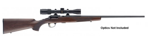 "Browning 025175270 T-Bolt Sporter Bolt 17 Hornady Magnum Rimfire (HMR) 22"" 10+1 Walnut Stock Blued"