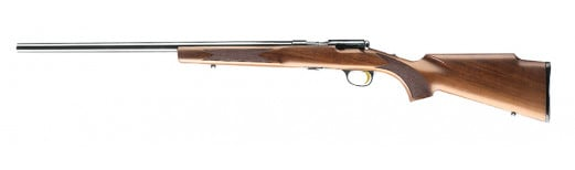 "Browning 025185270 T-Bolt Target/Varmint Bolt 17 Hornady Magnum Rimfire (HMR) 22"" 10+1 Walnut Stock Blued"