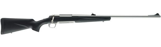 """Browning 035202132 X-Bolt Stainless Stalker Bolt 375 H&H 24"""" 3+1 Black Synthetic Stock SS"""
