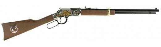 "Henry H004FOE Fraternal Order of Eagles Tribute Edition Lever 22 Short/Long/Long Rifle 20"" 16 LR/21 Short American Walnut Stock Blued"