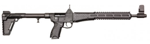 "Kel-Tec SUB2K9BRT92 Sub-2000 Semi-Auto 9mm Luger 16.25"" 17+1 Beretta 92 Mag 3-Position Synthetic Black Stock Black"