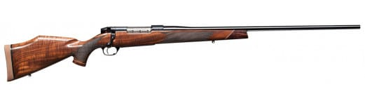 "Weatherby MDXM653WR6O Mark V Deluxe Bolt 6.5-300 Weatherby Magnum 26"" 3+1 Walnut Monte Carlo Stock Blued"