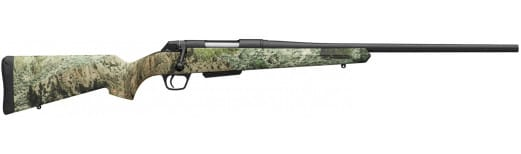 """Winchester Guns 535722236 XPR Hunter MCR Bolt 338 Winchester Magnum 24"""" 3+1 Synthetic Mossy Oak Mountain Country Stock Matte Blued"""