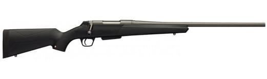 """Winchester Guns 535720264 XPR Compact Bolt 270 Winchester Short Magnum 22"""" 3+1 Stock Matte Blued"""