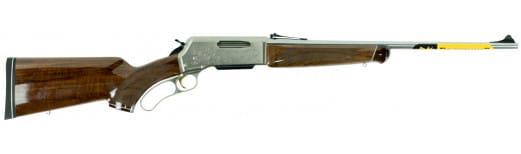 """Browning 034017148 BLR White Gold Medallion Lever 270 Winchester Short Magnum (WSM) 22"""" 3+1 Walnut Grade IV/V Stock Blued Barrel/Nickel Receiver"""