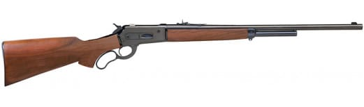 """Taylors and Company S743457 Pedersoli 1886/71 Wildbuster Lever 45-70 Government 24"""" 5+1 Walnut Stock Blued"""