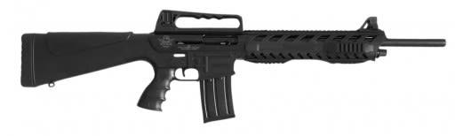 "Rock Island 601A VR60 Plus 1 Shotgun Semi-Auto 12GA 20"" 3"" Black Synthetic Stock Aluminum Alloy Rcvr"