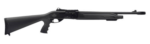 "Rock Island X4 SA Shotgun Tact Semi-Auto 12GA 18.5"" 3"" Black Synthetic Stock Aluminum Alloy Rcvr"