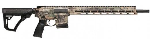"Daniel Defense 03041 DDM4 Ambush Semi-Auto 300 AAC Blackout/Whisper (7.62x35mm) 16"" 5+1 6-Position Realtree Xtra"