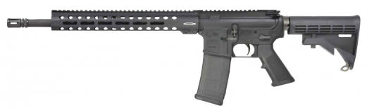 "Colt LE6920-R LE6920 Trooper Semi-Auto .223/5.56 NATO 16.1"" 30+1 6-Position Hard Coat Anodized/Black Phosphate"