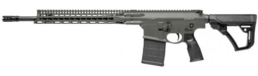 """Daniel Defense 02048047 DD5 V2 Semi-Auto 308 Winchester/7.62 NATO 18"""" 20+1 6-Position Green Cerakote"""