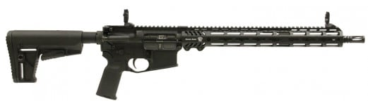 "Adams Arms FGAA00239 P2 Rifle Semi-Auto .223/5.56 NATO 16"" 30+1 Hard Coat Anodized"
