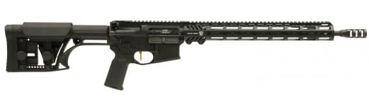 "Adams Arms FGAA00241 P3 Rifle Semi-Auto .223/5.56 NATO 16.5"" 30+1 Luth-AR MBA-1 Hard Coat Anodized"