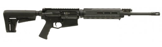 "Adams Arms FGAA00242 P1 Rifle Semi-Auto 308 Winchester/7.62 NATO 16"" 30+1 Hard Coat Anodized"