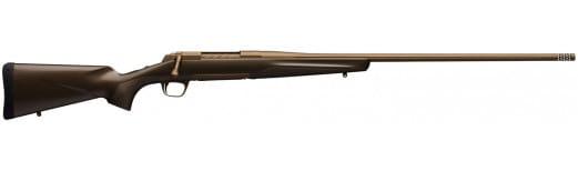 """Browning 035418288 X-Bolt Pro Bolt 28 Nosler 26"""" Fluted TB 3+1 Carbon Fiber Burnt Bronze Cerakote Stock Burnt Bronze Cerakote"""