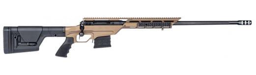 "Savage 22864 10/110BA Stealth Evolution Bolt 338 Lapua Magnum 24"" 5+1 Magpul PRS/Aluminum Chassis Bronze Cerakote"