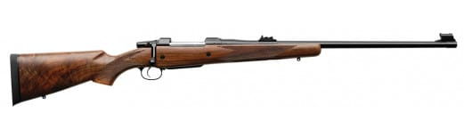 "CZ 04211 CZ 550 American Safari Magnum Bolt 375 Holland & Holland Magnum 25"" 5+1 Walnut Stock Blued"