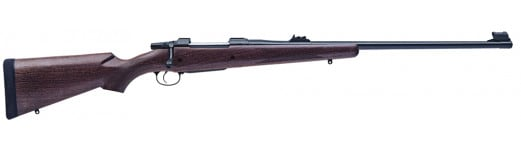 "CZ 04212 CZ 550 American Safari Magnum Bolt 416 Rigby 25"" 3+1 Walnut Stock Blued"