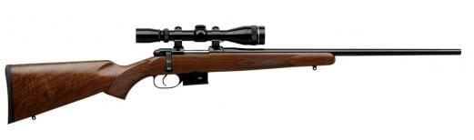 "CZ 03021 527 American Bolt 222 Remington 21.9"" 5+1 Walnut Stock Blued"