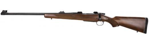 "CZ 04220 CZ 550 American Safari Magnum Left Hand Bolt 375 Holland & Holland Magnum 25"" Walnut Blued"