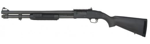 "Mossberg 59815 590A1 Pump 12GA 20"" 3"" 8+1 Synthetic Black Parkerized"