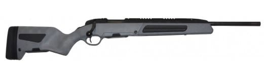 """Steyr 26.346.3E Scout Bolt 308 Winchester/7.62 NATO 19"""" FB 5+1 Synthetic Green Stock Black"""