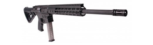 "American Tactical Imports AR15 9mm MilSport Carbine Rifle, 16"" Nitride Barrel - G15MS9KM16"