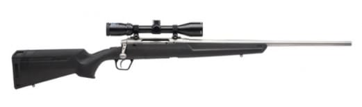 """Savage Arms 57284 Axis XP S/S .270 22"""" 3-9x40 SS/BLACK Synthetic Ergo Stock"""