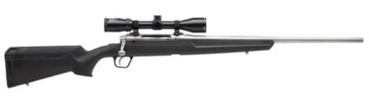 """Savage Arms 57291 Axis XP S/S .308 22"""" 3-9x40 SS/BLACK Synthetic Ergo Stock"""