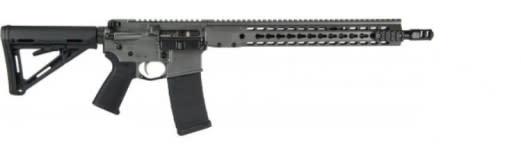 """Barrett 17177 REC7 DI Carbine 300 Blackout 16"""" Grey"""