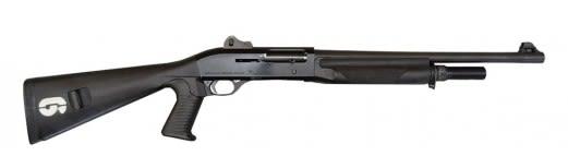 """Benelli M1 Super 90 LEO Trade-In Semi Auto 12GA Shotgun - 18.5"""" Barrel - Good Condition"""
