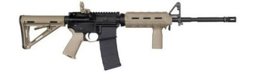 "Colt AR-15 5.56MM 16.1"" - Matte Flat Dark Earth Carbine"