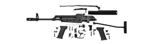 AMD 65 AK Rifle Parts Kit : Hungarian, Pre-Barreled and Finished, Excellent to Like-New, Less Receiver