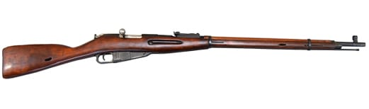 Russian M91/30 Mosin Nagant Rifle, Arsenal Refinished, Very Good Condition, Round Receiver...7.62x54R W / Bayonet and Accessories.
