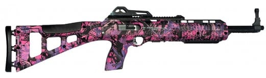 Hi-Point 9mm Carbine Rifle in Pink Camo Pattern Stock Model 995-TSPI