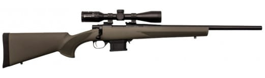 "Legacy Sports HMP60603 Howa Miniaction 22"" 6.5 Grendel 3-9x40 Scope Green"