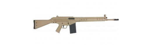 Century Arms CAI C308 Rifle, Cal. .308 Tan Cerakote Finish ... W / 20 Round Surplus Mag. Show Display Rifles, Very Good Condition .