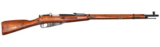 Russian M91/30 Mosin Nagant Rifle w/ Laminated Stock - 7.62x54R - NRA Surplus Good to Very Good Condition (Long Guns)