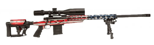 Legacy Sports HCRA72597USK Howa HCR Chassis 6.5CREED 26 HB Flag KIT